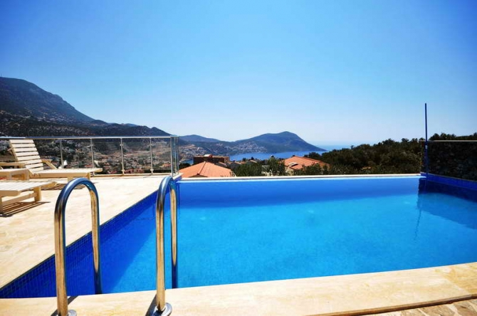 Semi Detached Villas in Ortaalan Kalkan For Sale