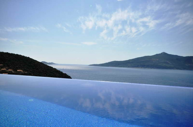 Villa located on the Seafront in Kalkan For Sale