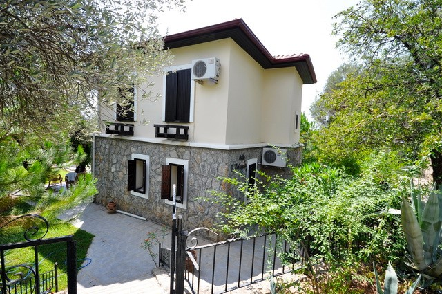 Detached Villa With Private Garden on Small Complex in Ovacik