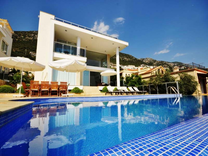 Amazing Villa Overlooking Kalkan Bay For Sale