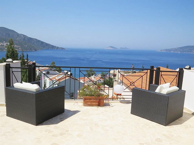 Charming Villa Located in Kalkan Old Town For Sale