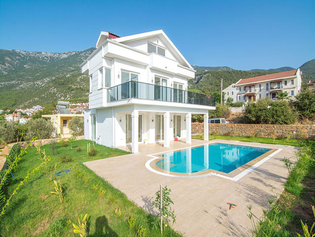 Brand New Ovacik Villa with Private Garden and Pool