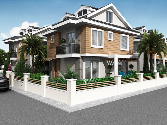 Exclusive Estate of Villas Near to Calis