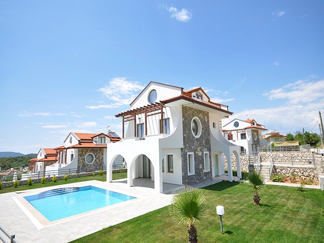 Newly Completed Villa Complex in Ovacik For Sale
