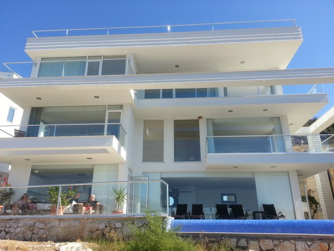 Newly Built  Villa in  Contemporary Design in Kalkan For Sale
