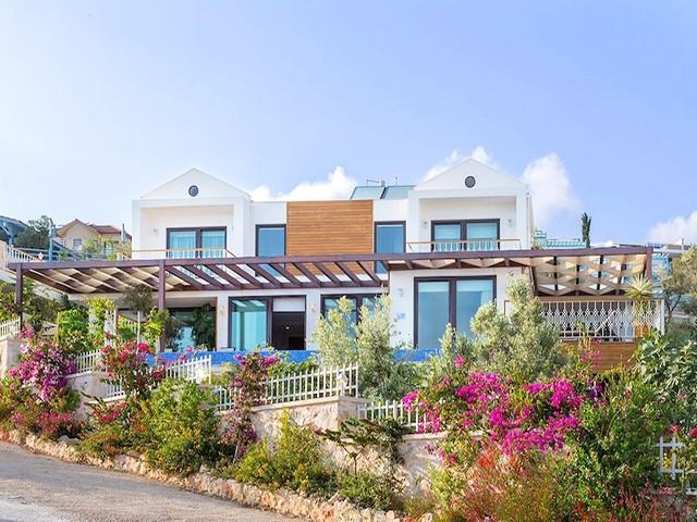 Panoramic Sea View Villa in Kalkan For Sale