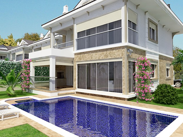 Off Plan Luxurious Designer Villa in Calis