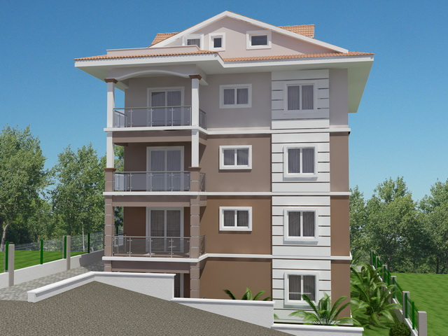 Brand New Apartment Complex in Fethiye For Sale