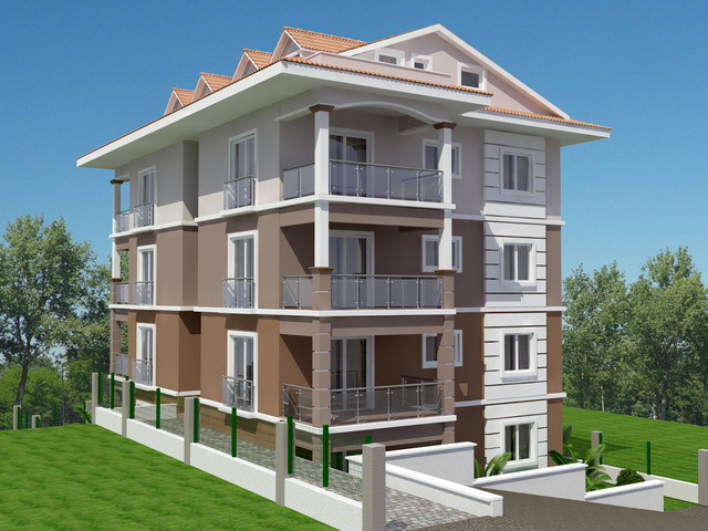 Off Plan Apartment Complex in Fethiye Town For Sale