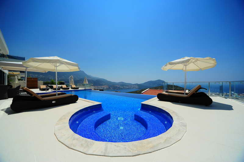 Luxurious Villa with Self Contained Apartment in Kalkan For Sale