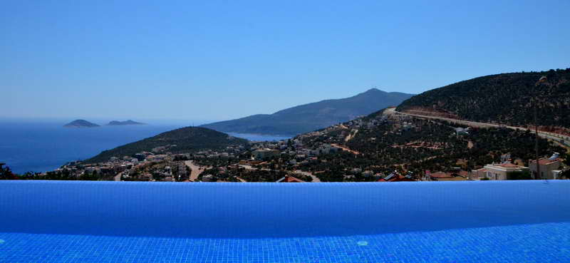 Luxury Villa in Kalkan with Amazing Sea Views For Sale