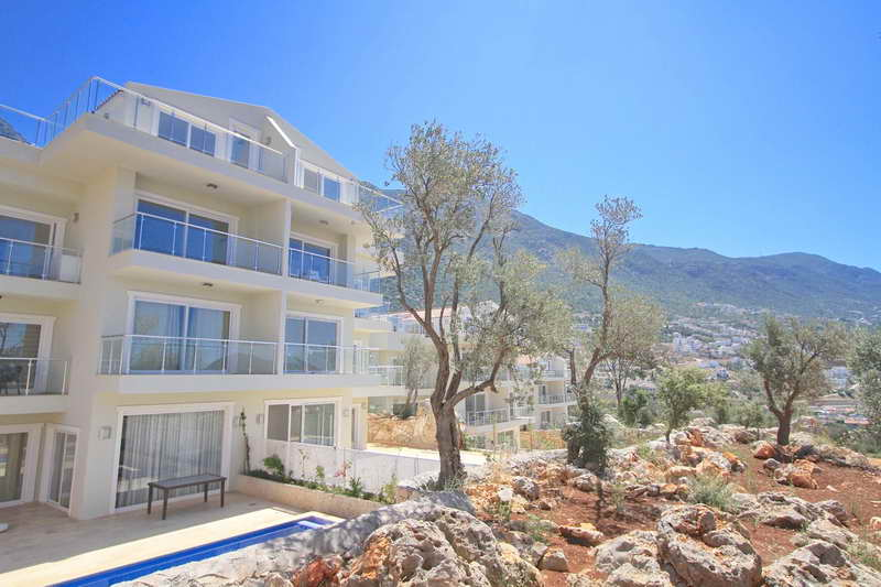 Spacious Duplex Apartments in Kalkan