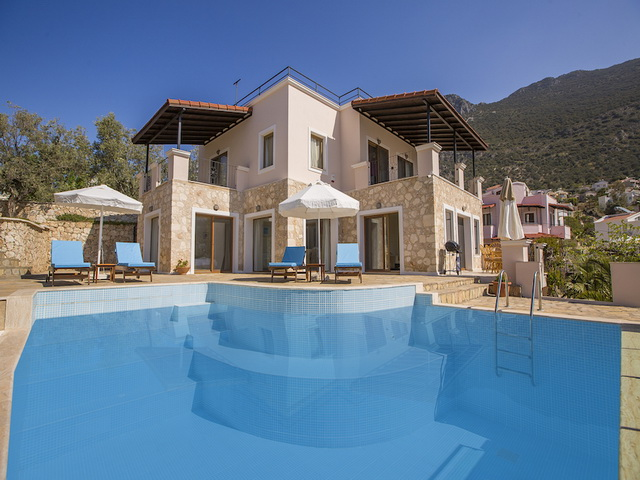 Kalkan Villa with Sea Views For Sale