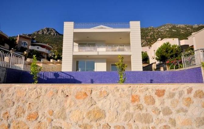 Kalkan Villa with Sea Views