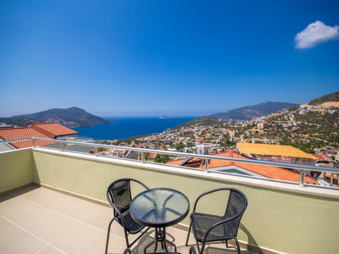 Detached Villa Overlooking Kalkan Bay