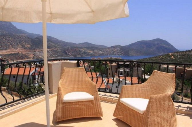 Luxury Villa Located Close to the Beach in Kalkan For Sale