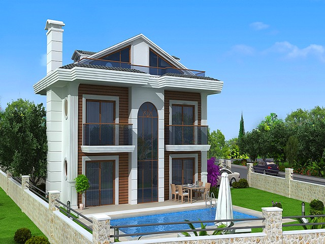 Brand New Villas For Sale Located in Peaceful Hisaronu