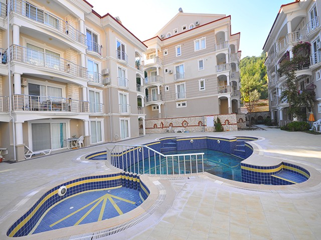Three Bedroom Family Duplex Apartment in Fethiye