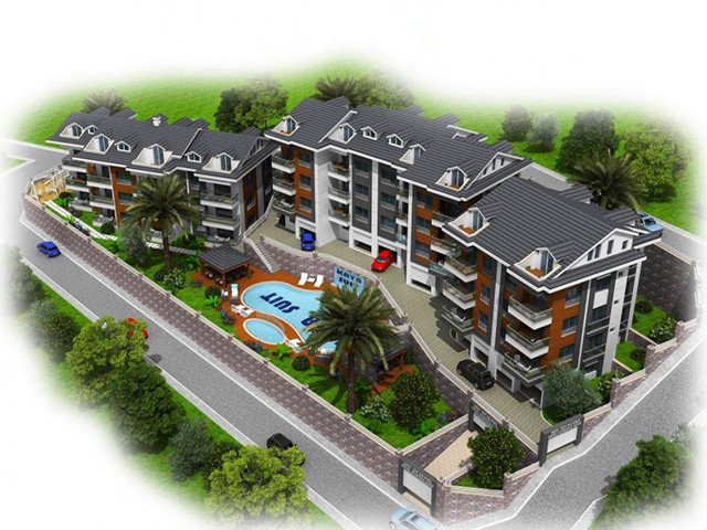Luxurious Suite Apartments in Fethiye Town For Sale
