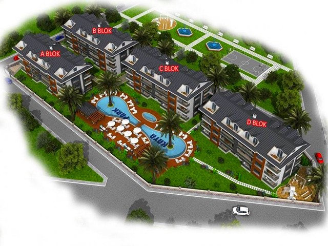 Luxurious Off Plan Project in Fethiye For Sale