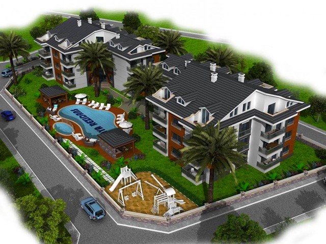 Stylish Apartments in Luxurious Complex in Fethiye For Sale