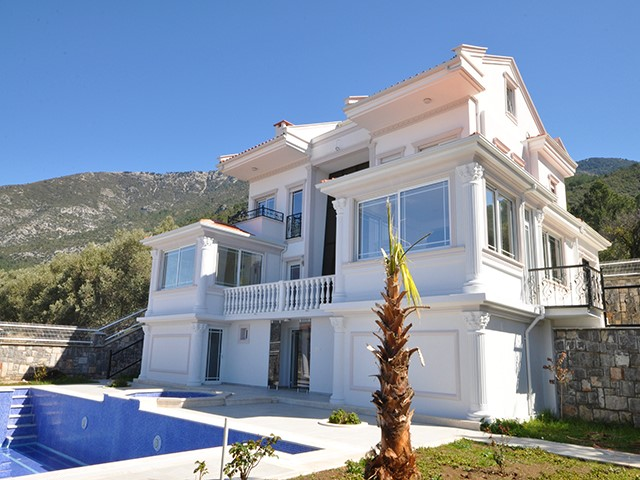 Brand New Smart Villa in Ovacik For Sale