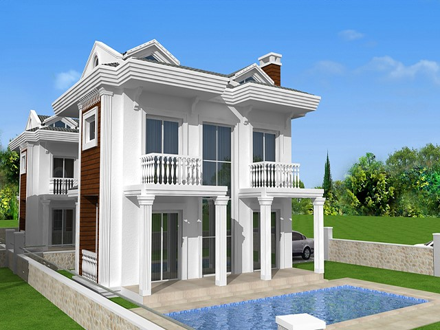 Brand News Villas in Calis