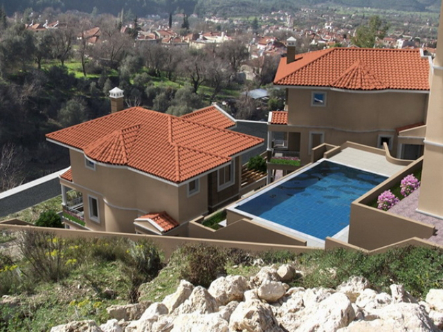 SOLD !!!Bargain Semi Detached Villas with Private Pool & Garden For Sale