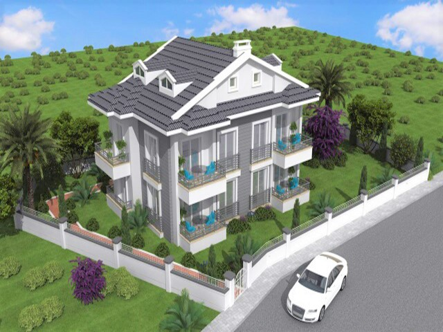Brand New One Bedroom Apartment  For Sale in Gocek