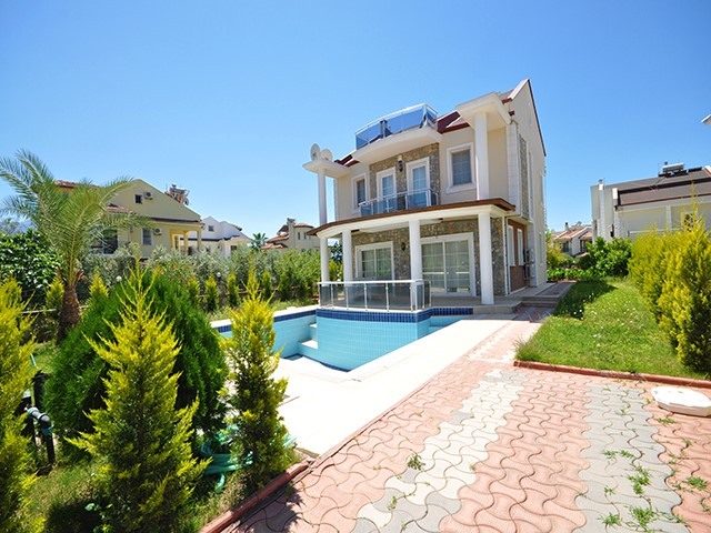 Detached Fully Furnished Villa in Calis