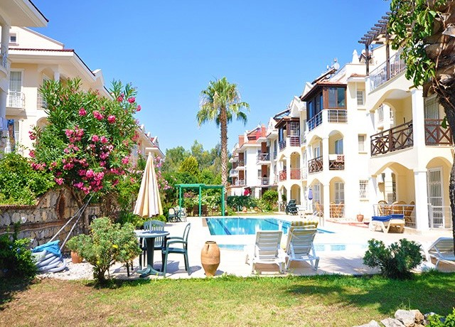 Fully Furnished Ground Floor Apartment in Calis