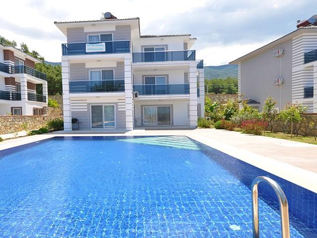Fully Furnished Triplex Villa For Sale in Peaceful Ovacik