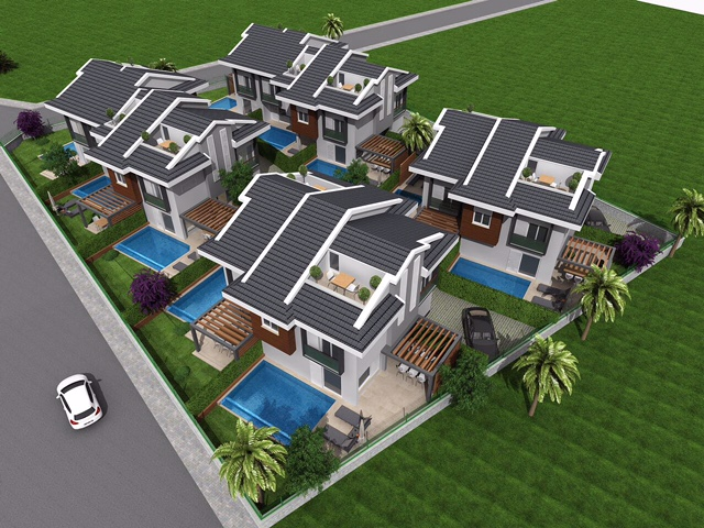 Brand New Off Plan Villa Project in Fethiye