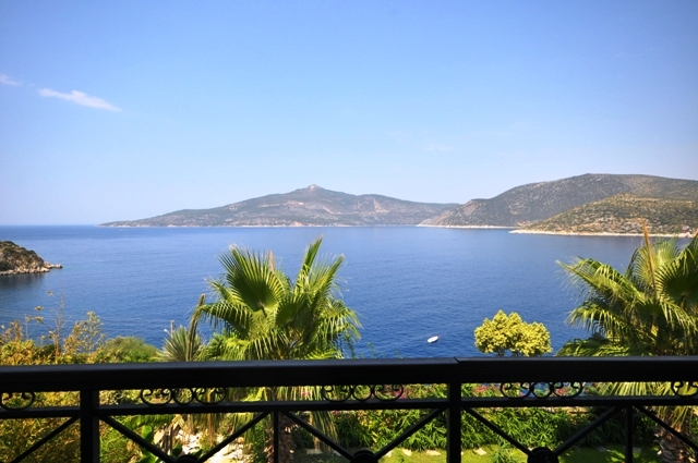 Spectacular Seafront Villa in Kalkan For Sale