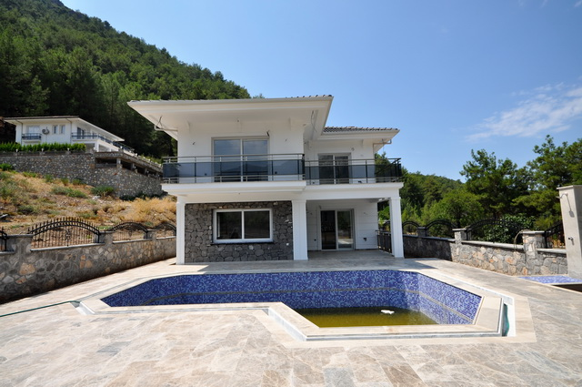 SOLD  !!!   Off Plan Villa in Peaceful Uzumlu For Sale