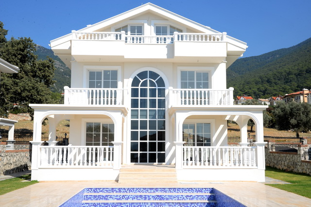 SOLD!!! Newly Completed Luxury Detached Villas For Sale  in Ovacik