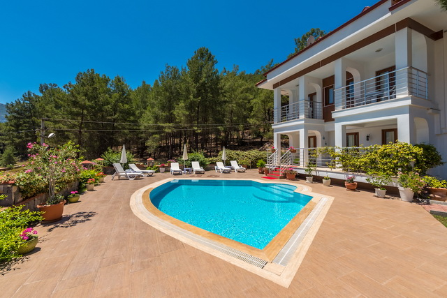 Wonderful Hisaronu Villa in a Forest Surrounding For Sale