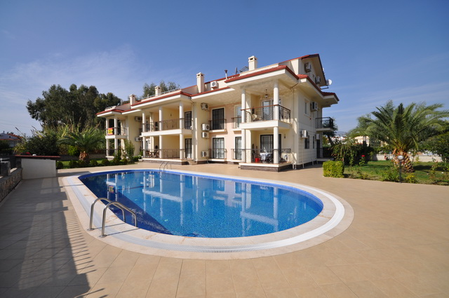 SOLD!!! Three Bedroom Duplex Apartment in Calis With Shared Pool