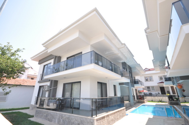 Brand-New Duplex Apartment With Swimming Pool, Calis