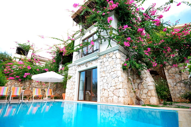 3 Bedroom  Kalamar Villa For Sale  Just Second to The Beach in Kalkan