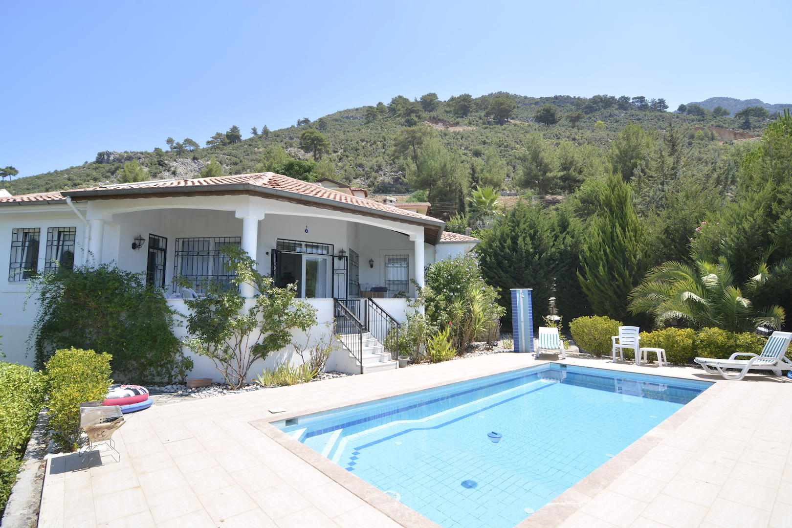 not available!!! Detached Uzumlu Bungalow with Mature Garden and Beautiful View