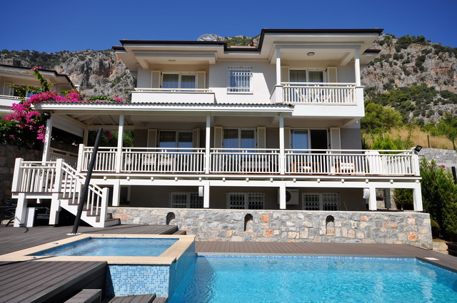 Luxury Designed Detached Villa With Sea View in Gocek