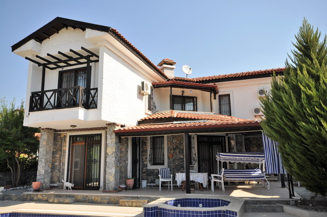 On Hold! Four Bedroom Seydikemer Villa with Swimming Pool For Sale