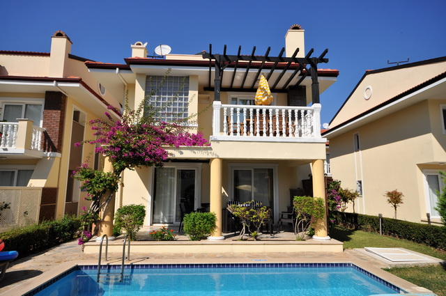 Beach Front 4 Bedroom Calis Villa For Sale
