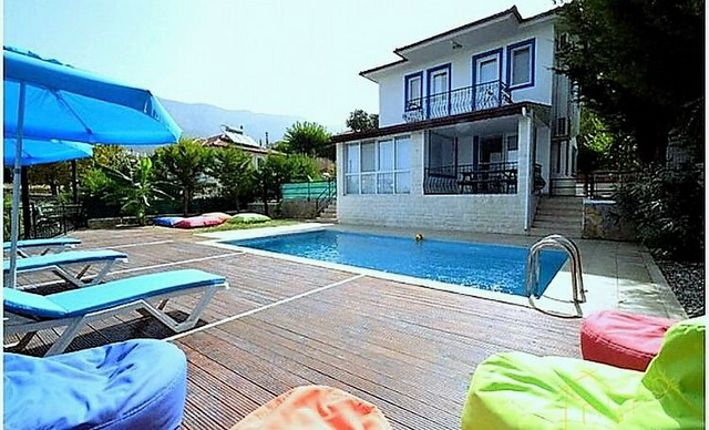 There Bedroom Detached Villa in Ovacik