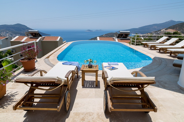 Spacious Five Bedroom Kalkan Villa  For Sale With Amazing Views