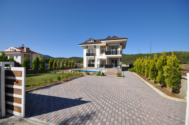 SOLD!! Investment Opportunity!! Specious 5 Bedroom Brand New Villa in Ovacik