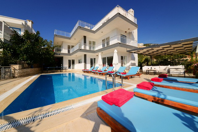 Luxurious 6 Bedroom Detached Kalkan Villa For Sale
