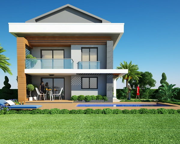 Off Plan Luxury 4 Bedroom Villas in Fethiye Town
