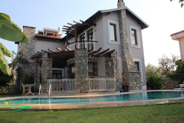 Detached Centraly Located Fethiye Villa For Sale